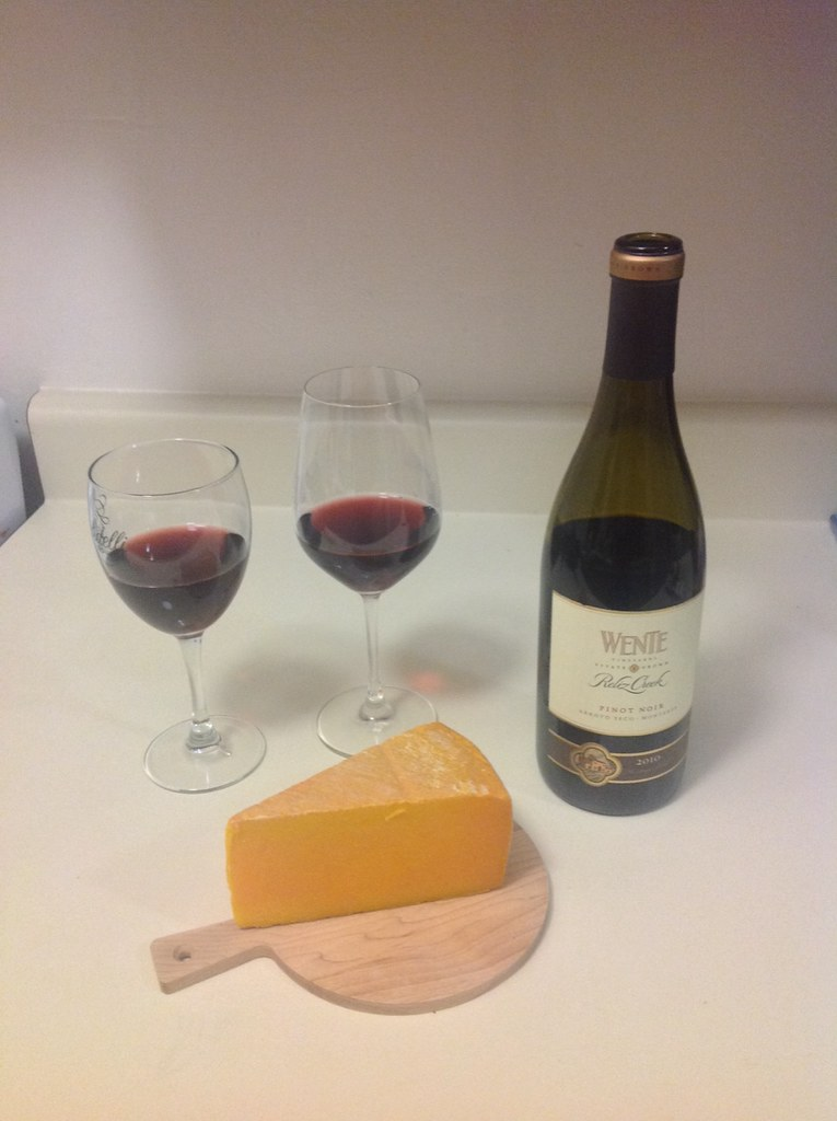 Pinot Noir and Pacific Rock Cheese 2
