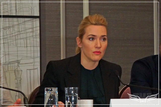 The Establishing Shot: KATE WINSLET DISCUSSES HER ADMIRATION OF JOHN HILLCOAT'S TECHNIQUE AND WHAT DREW HER TO THE MATERIAL - CORINTHIA HOTEL LONDON