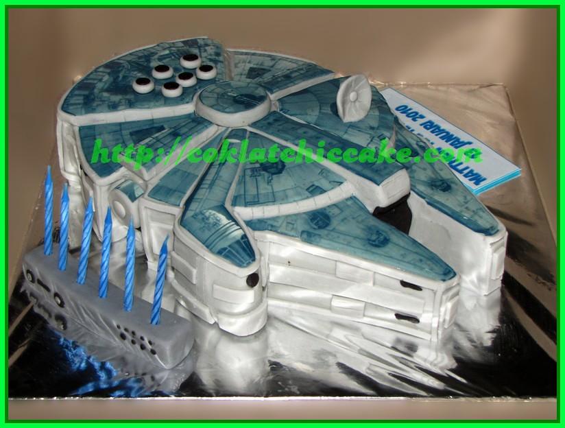 Cake Star Wars / Cake Milleniun Falcon