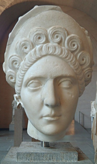 Portrait of Plotina, Glyptothek Museum, Munich