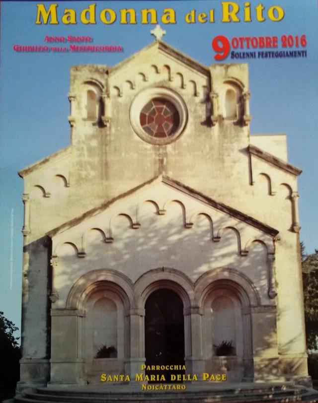 Noicattaro. Chiesa Madonna del Rito intero