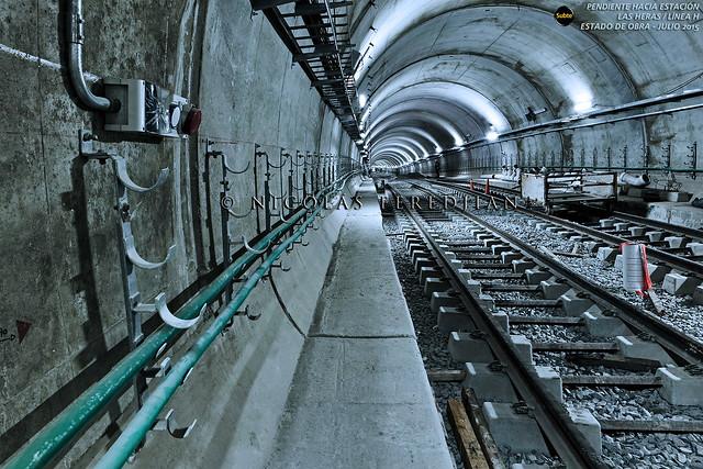 Pendiente hacia Estación Las Heras / Línea H