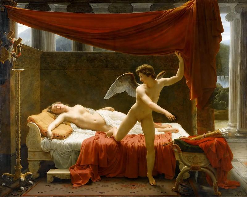 François-Éduard Picot - Cupid and Psyche (c.1817)