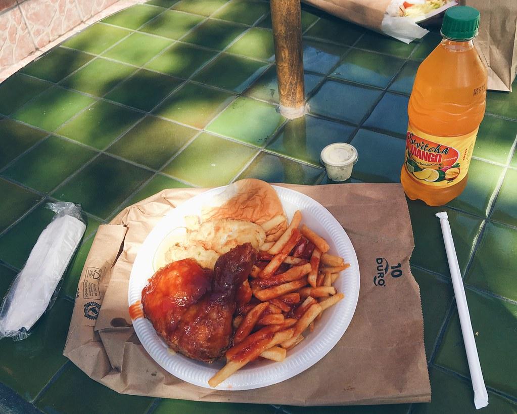 Lunch in Nassau