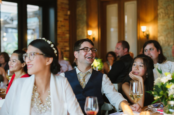 Celine Kim Photography KM Intimate restaurant Cluny Bistro Distillery District Toronto summer wedding-61
