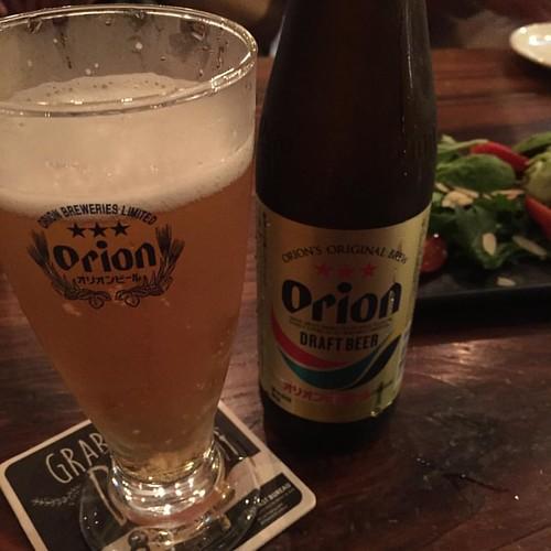 シンガポールなのにタイガービールよりオリオンビールが安かった。ふしぎ。