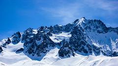 Pic de Neige Cordier 3613m, lodowiec d