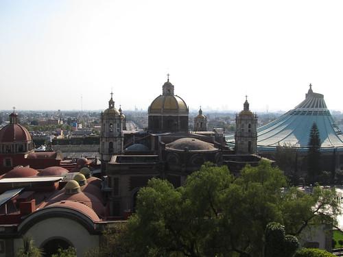 Mexico City: vue sur l'Ancienne et la Nouvelle Basiliques