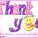 Thank   you. Dear   All my  firends Flickr. by kristavanichinnsamy