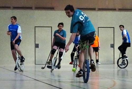 Einradhockeyliga: Slowmos Lank 7:0 Römer Trier