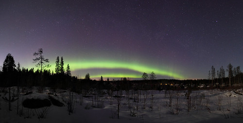 Auroral show on the 15/16 of march