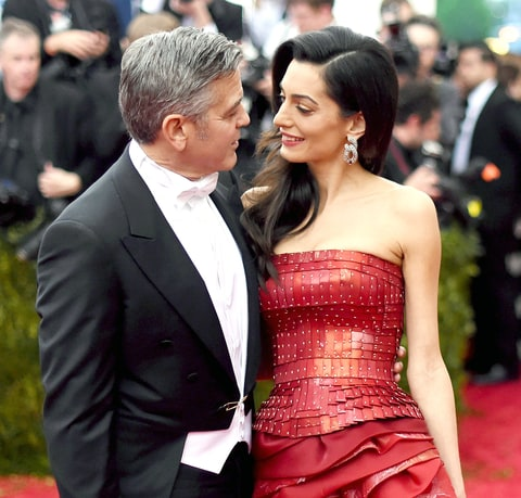 Фото | Джордж Клуни с женой