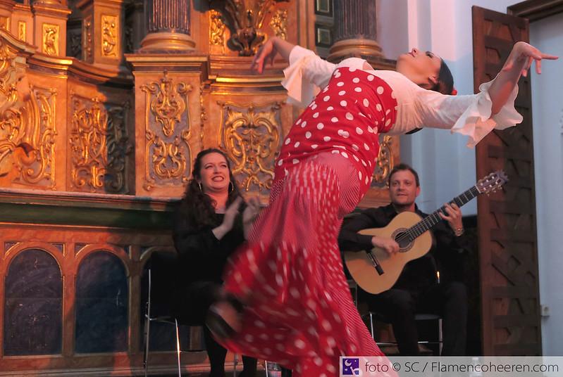 Miércoles a Compás 2016. Coral Moreno, Laura Mateo & Gabriel Pérez