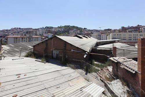 restes de la bòbila Carmen Taxonera Barcelona