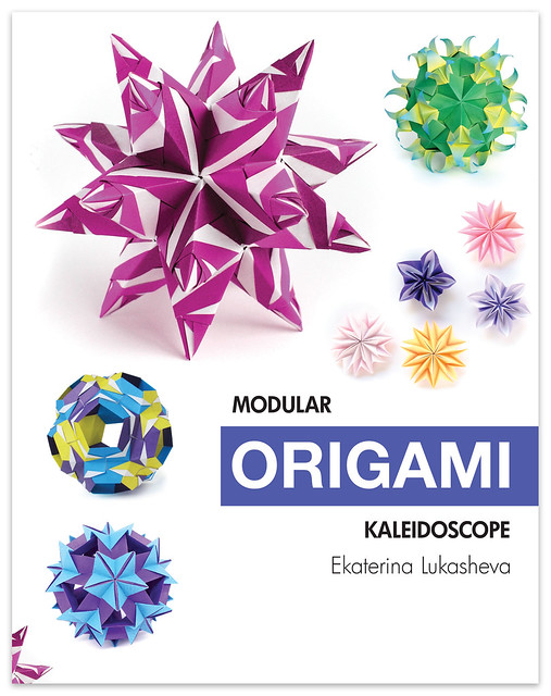 """Modular Origami Kaleidoscope"" book http://www.amazon.com/dp/0997311940"