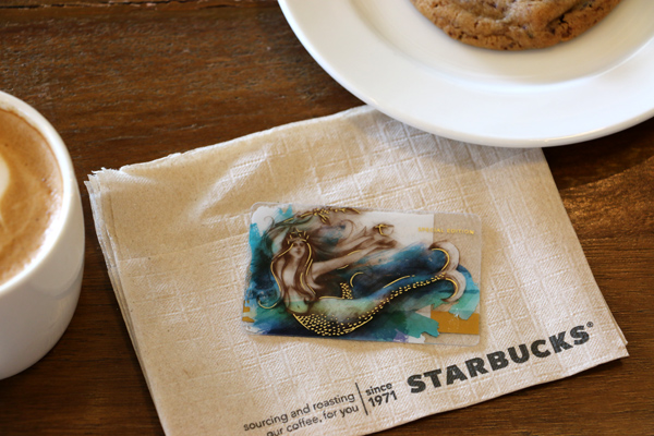 Starbucks Siren Card