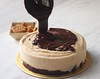 Chocolate Speculoos cookie butter ice cream cake