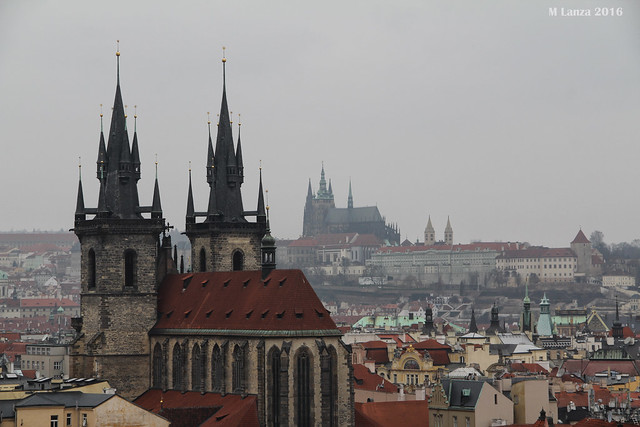 View from Prague's Powder Gate