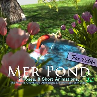 :KAMI-HITOE: Mer pond for petite