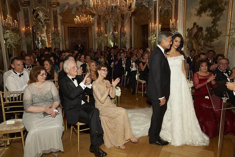 Свадьба Джорджа Клуни в Венеции. 2014 год
