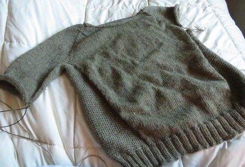 wip: The Accidental Sweater