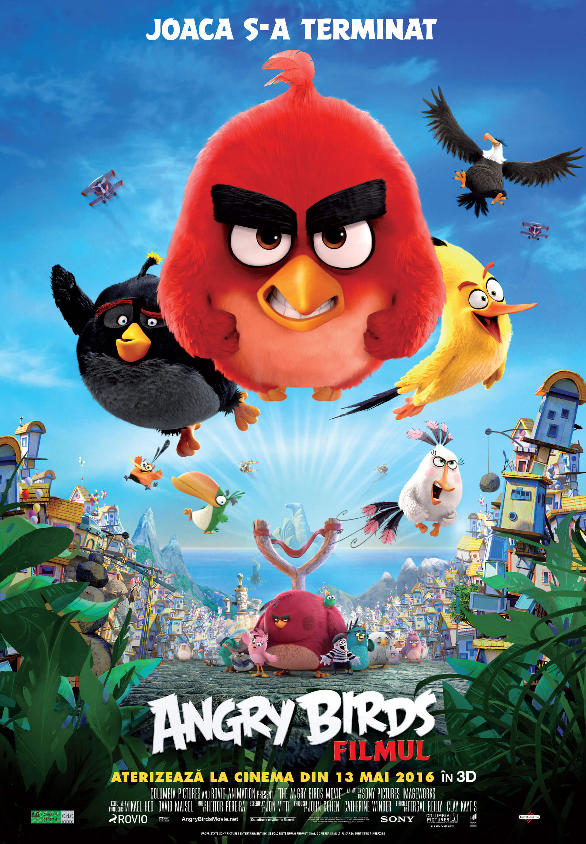 Angry Birds Movie - Joaca s-a terminat
