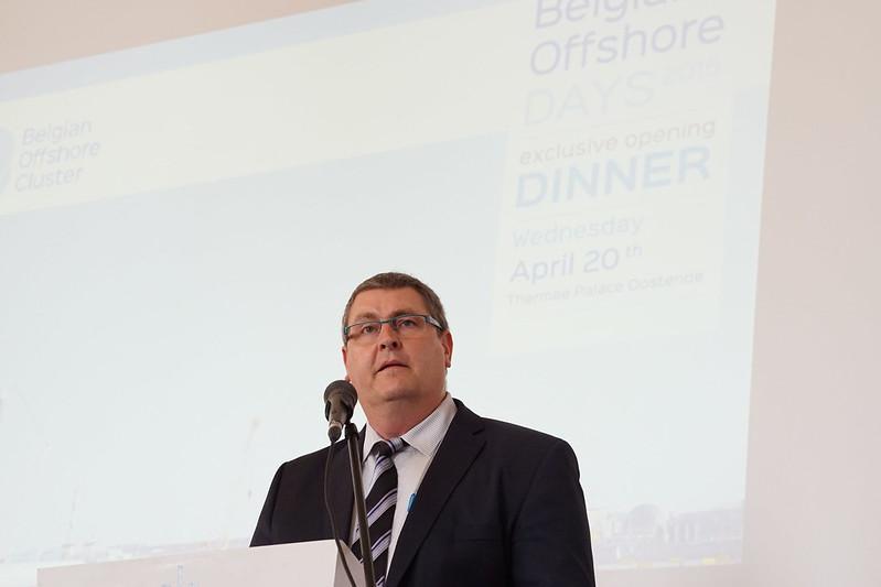 Belgian Offshore Days - opening dinner - 20/04/2016