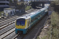 175113 leaving Cardiff Central