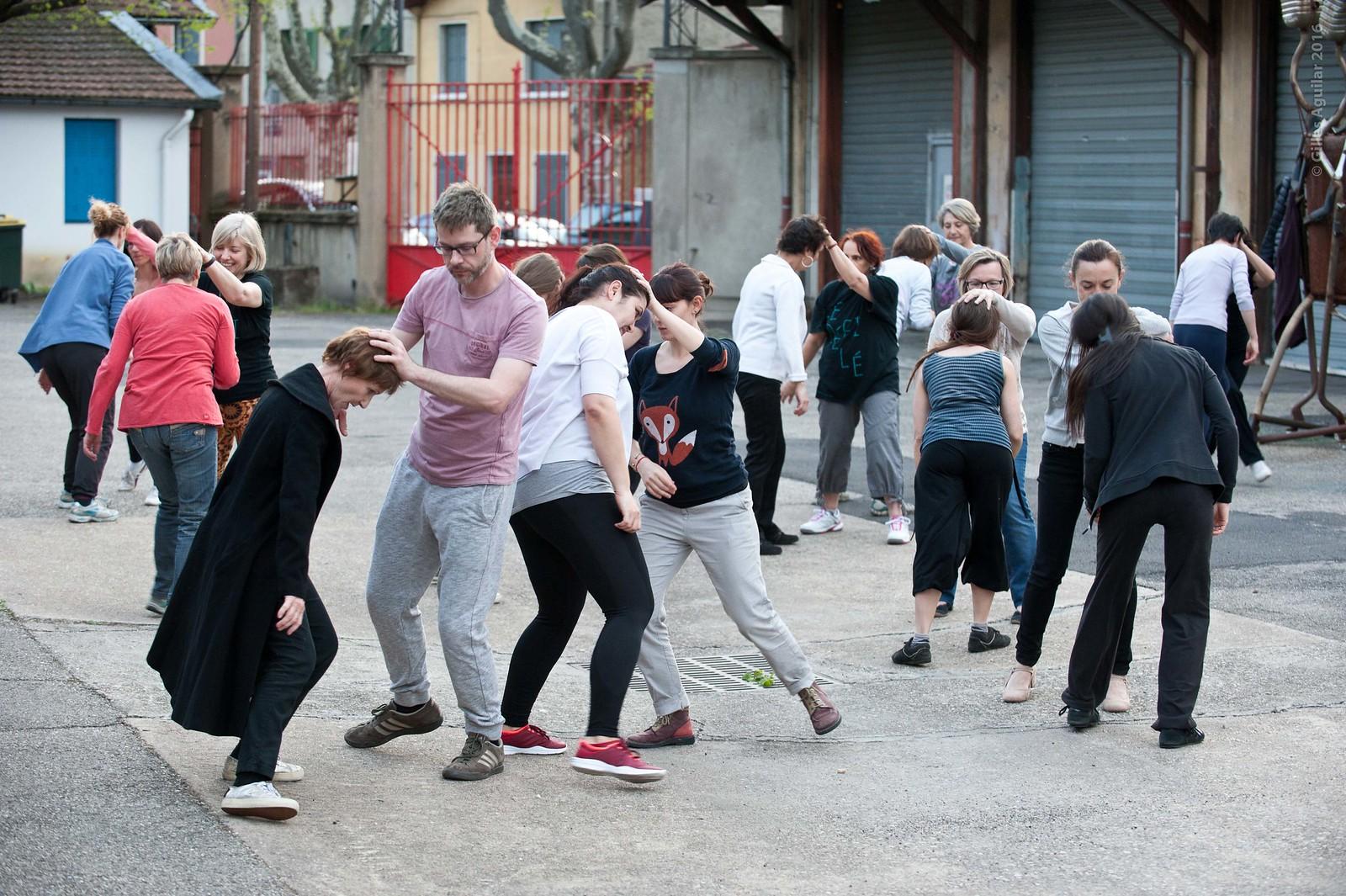 Répétition 20/04 Défilé Biennale de la Danse 2016