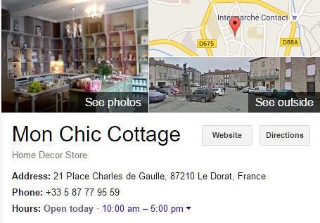 Mon Chic Cottage