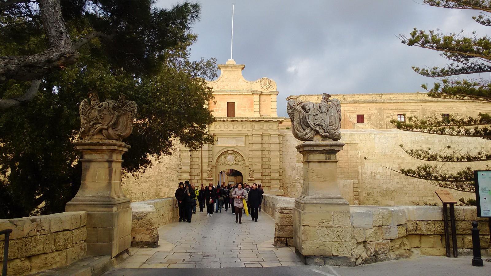 Mdina - Portale di accesso