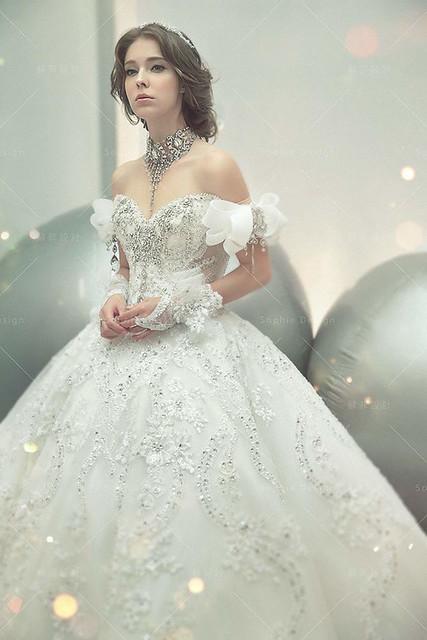 單租禮服,婚紗禮服,手工婚紗,水晶禮服,施華洛世奇水晶