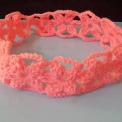 Floral  #crochet #headband customizable upon order msg me Only #qatar