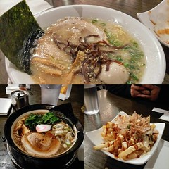 - ramen for dinner, it was ok, read the menu carefully i guess....-