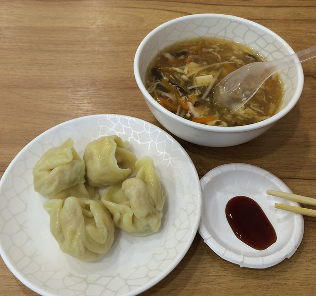 Corn Dumplings, Chinese Spicy Hot And Sour Soup