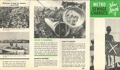 Metro sewage brochure, circa 1963
