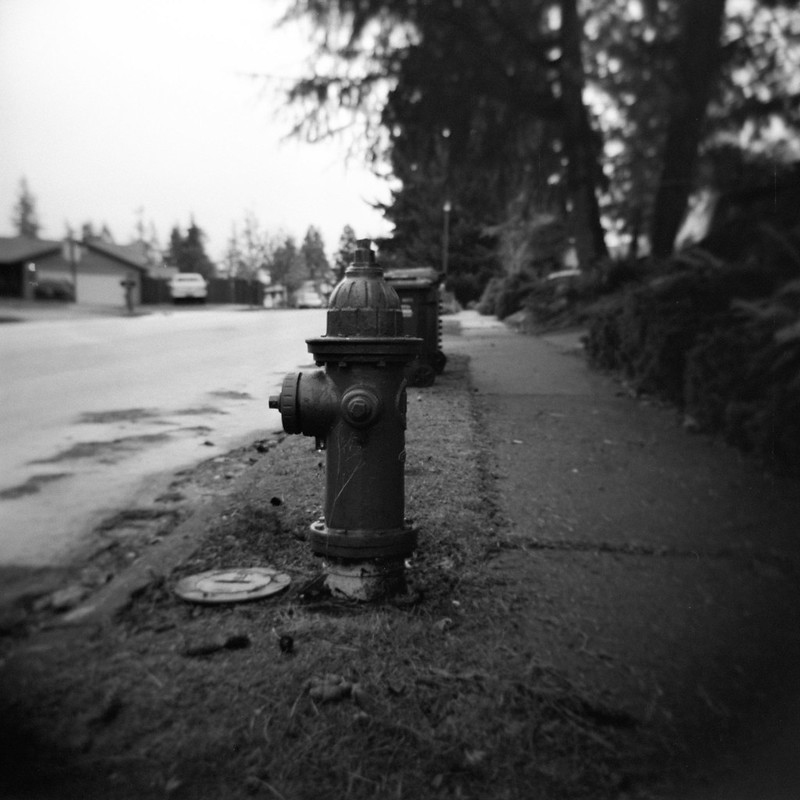A Red Hydrant