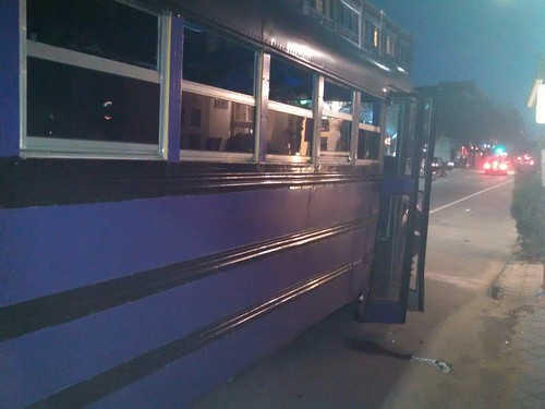 Purple Party Bus