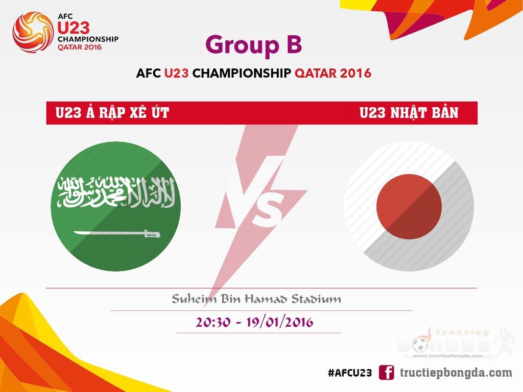 U23 Ảrập Xêút vs U23 Nhật Bản