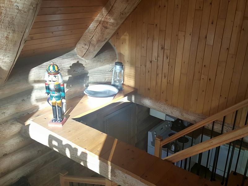 Au Chalet en Bois Rond log cabin