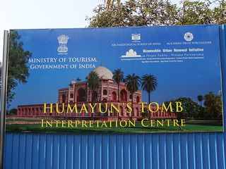 Image of Humayun's Tomb.