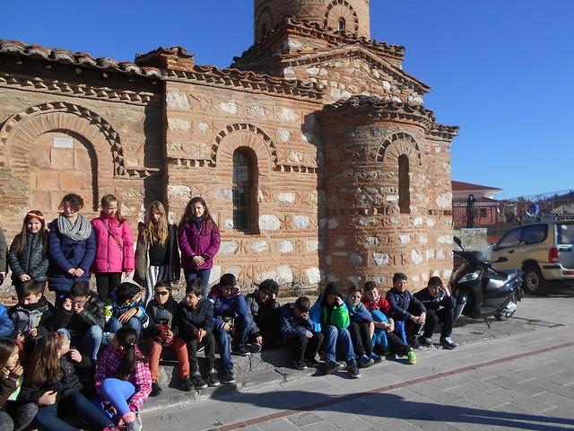 Επίσκεψη της Ε' τάξης σε Βυζαντινές εκκλησίες της Καστοριάς