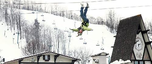 Boyne Mountain Zipline