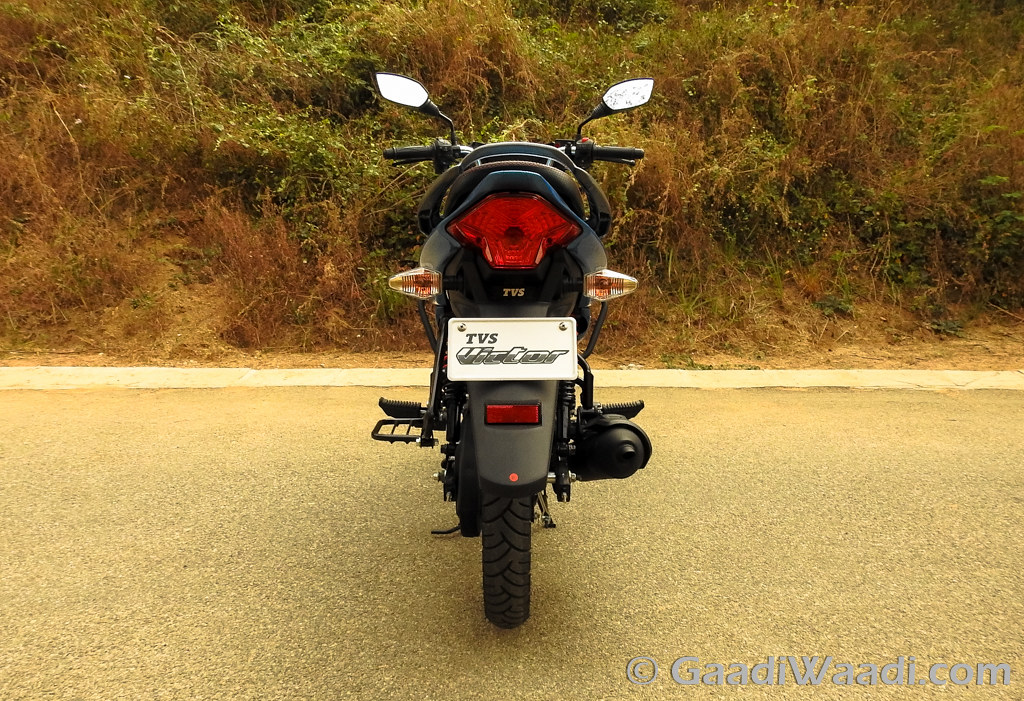 2016 TVS Victor Test Ride Review-12