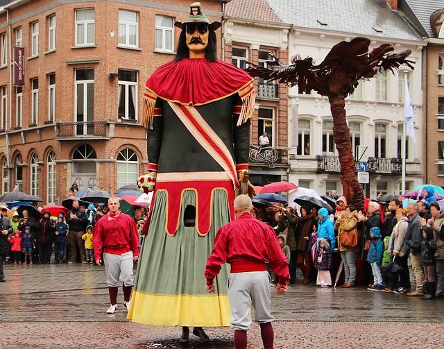 City Giants, Dendermonde, Belgium