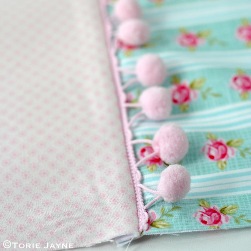 Pretty tote sewing tutorial 5