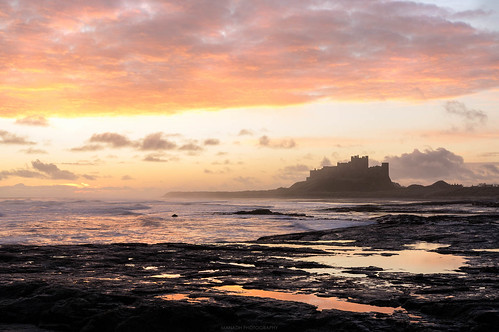 Bamburgh - Just before sunrise