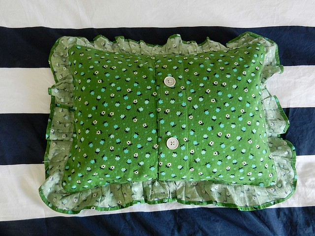Floral Pillow back