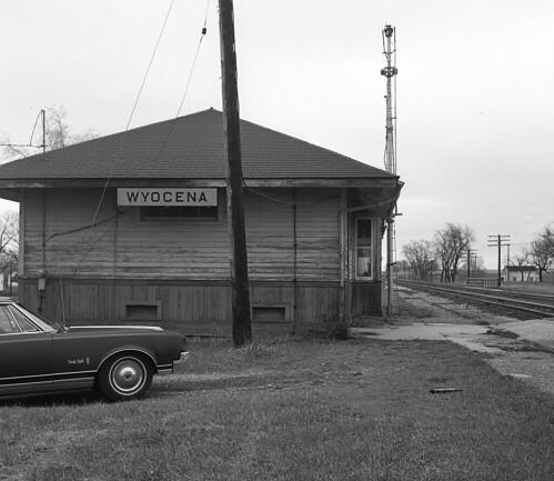 CMStP&P Depot Wyocena, Wisconsin