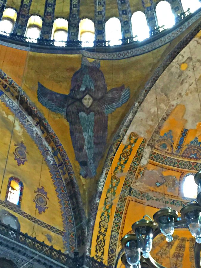 Hagia Sophia Angel